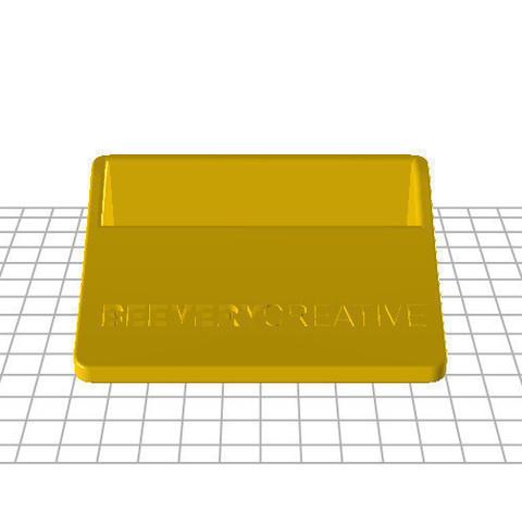 Captura_de_ecr__total_10102014_095749.bmp.jpg Download free STL file Business card holder • 3D printer object, BEEVERYCREATIVE