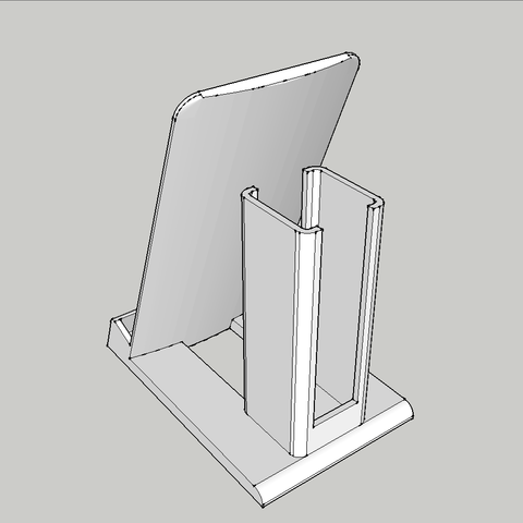 SX_holder_screenshot1.png Download free STL file Sony Xperia SX phone and powerbank holder • 3D printing object, BEEVERYCREATIVE