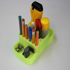 Free stl Office material holder, BEEVERYCREATIVE