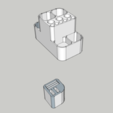 Download free 3D printer designs Office material holder, BEEVERYCREATIVE
