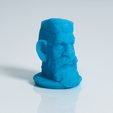 Free 3D printer file Zombie Hunter Head, Sculptor