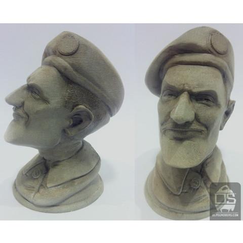 r3.jpg Télécharger fichier STL gratuit  The Colonel • Objet pour imprimante 3D, Sculptor