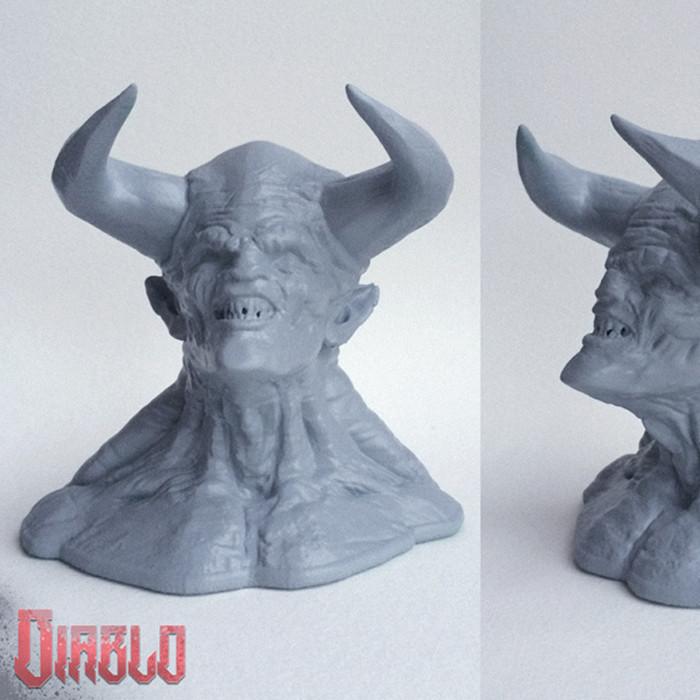 Z1.jpg Download free STL file DIABLO - Straight from Hell! • 3D printer object, Sculptor