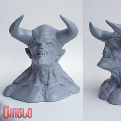 Z1.jpg Download free STL file DIABLO - Straight from Hell! • 3D printer object, Sculptor