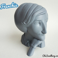 Download free 3D print files Frenchie, Sculptor