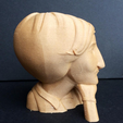 Free 3D printer files Frenchie, Sculptor