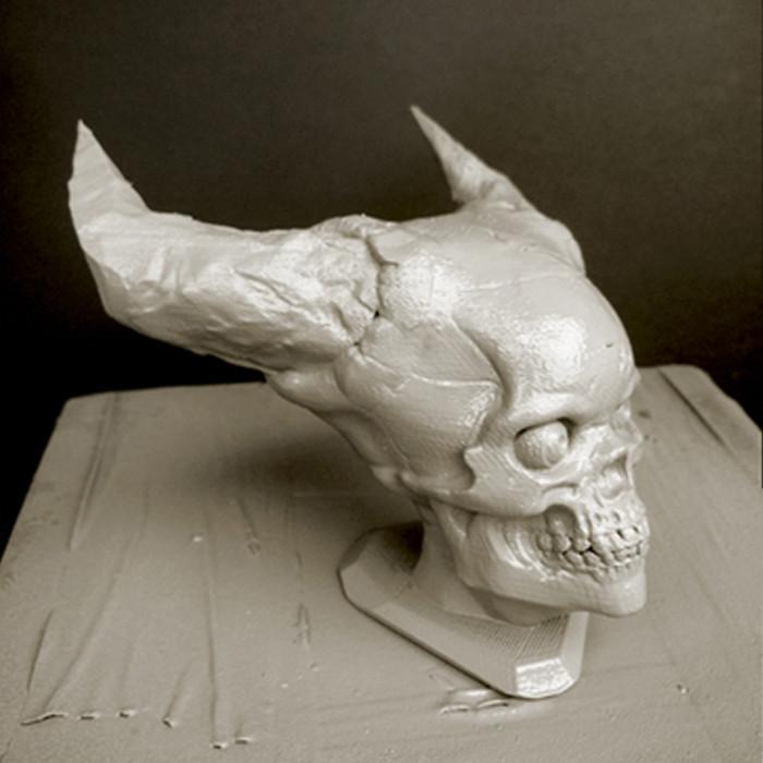 1.jpg Télécharger fichier STL gratuit Crâne de l'Enfer • Plan pour imprimante 3D, Sculptor