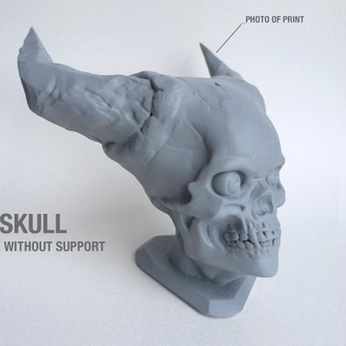 4.jpg Télécharger fichier STL gratuit Crâne de l'Enfer • Plan pour imprimante 3D, Sculptor