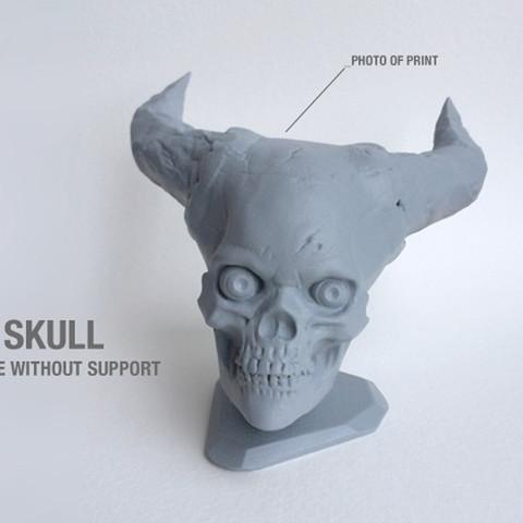 5.jpg Télécharger fichier STL gratuit Crâne de l'Enfer • Plan pour imprimante 3D, Sculptor