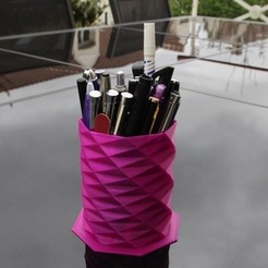 Download 3D printing designs Pencil holder, SmartBlug