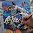 Download STL file PaintBox for 'Numero d'Art' • 3D print template, SmartBlug