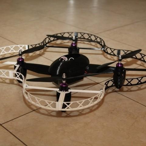3d model Drone Quadcopter, SmartBlug