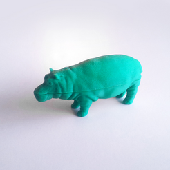 Free FDM ready Split Hippo 3D printer file, David_Mussaffi