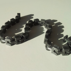 Download free 3D printer model Bracelet (chain), David_Mussaffi