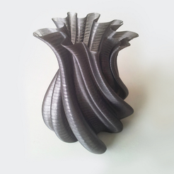 Free 3D print files Pumpkin Vase 3, David_Mussaffi