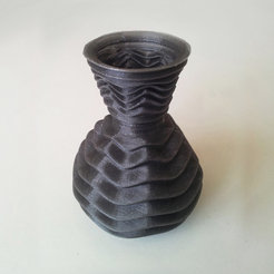 Free Form Vase 8 STL file, David_Mussaffi