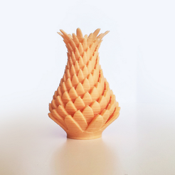Download free 3D printer designs Leaf Vase 4, David_Mussaffi