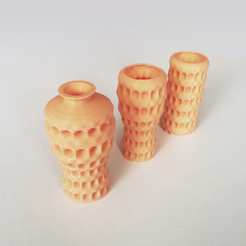 Free 3D printer file Bump Vase 16, David_Mussaffi