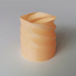 Free 3D printer model Simple Twisted Vase 5, David_Mussaffi