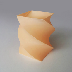 Free 3d print files Simple Twisted Vase 1, David_Mussaffi