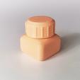 Download free 3D printing files Bottle and Screw Cap 21, David_Mussaffi