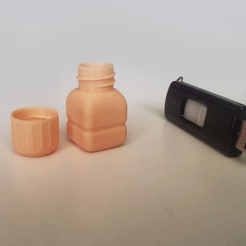 Free 3D printer files Bottle and Screw Cap 25, David_Mussaffi