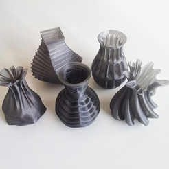 Free 3D printer file Vases, David_Mussaffi