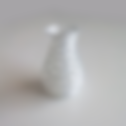 Free 3d model Voronoi Form Vase 1, David_Mussaffi