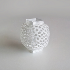 Free 3d print files Voronoi Wind Vase 1, David_Mussaffi