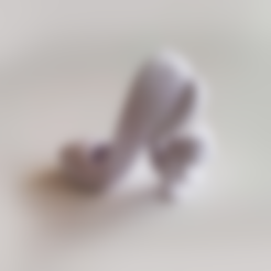 Free 3D printer files Squirrel High Heel Shoe, David_Mussaffi