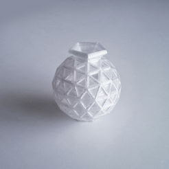 Free Geosphere Vase 25 3D printer file, David_Mussaffi