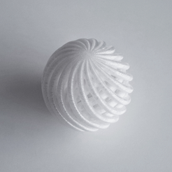 Free 3D printer file Wire Sphere, David_Mussaffi