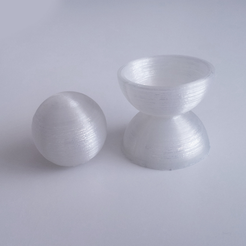 Download free STL file Hemisphere Test • 3D printing model, David_Mussaffi