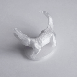 Free 3D printer files Crocodile, David_Mussaffi