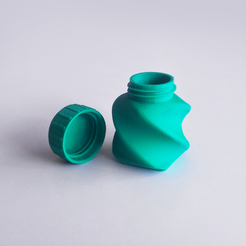 Download free 3D printing designs Bottle and Screw Cap 45 AB, David_Mussaffi