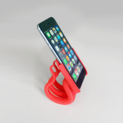Download free 3D printing models Iphone 6 (plus) 2 parts stand, David_Mussaffi