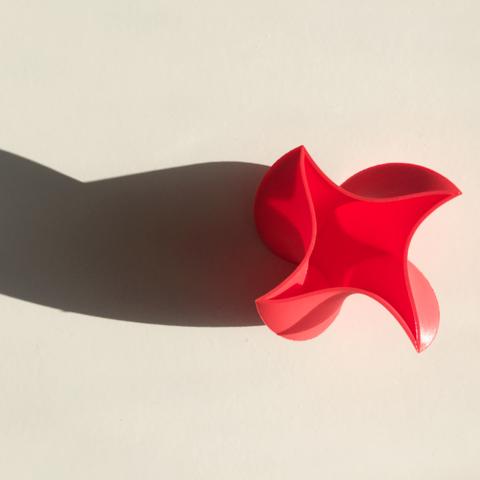 Download free 3D printing models Ninja Star Vase 1, David_Mussaffi