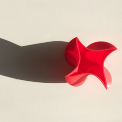 Free 3D printer file Ninja Star Vase 1, David_Mussaffi