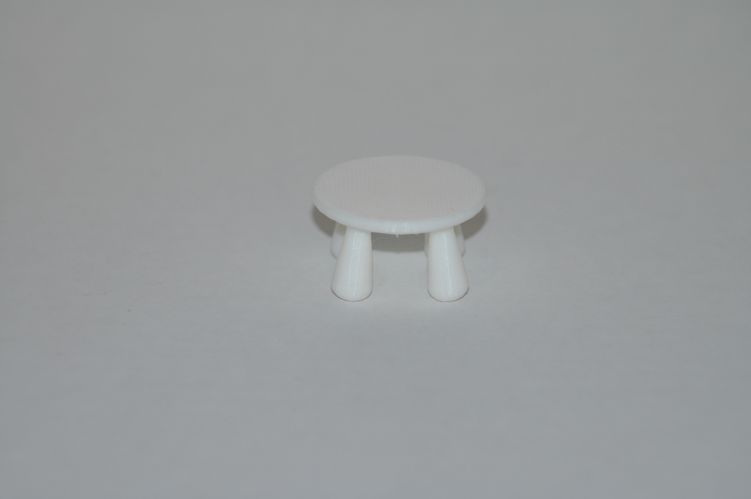 DSC_7243.JPG Download STL file Mini Doll House Stool • 3D printable template, Ollie