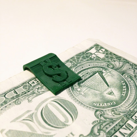 Download free 3D print files Money Clip, Ollie