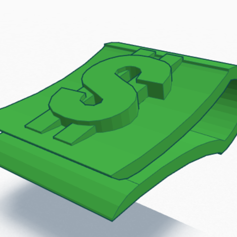 large_Screen_Shot_2014-10-16_at_6.28.15_AM.png Download free STL file Money Clip • Model to 3D print, Ollie