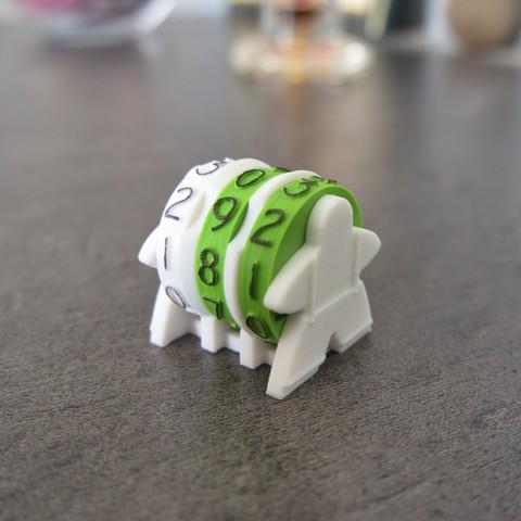 Télécharger modèle 3D Compteur de points / scores, Daedsidog
