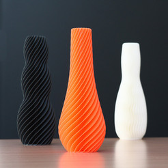 Free 3d printer model SPIRAL vase, Ysoft_be3D