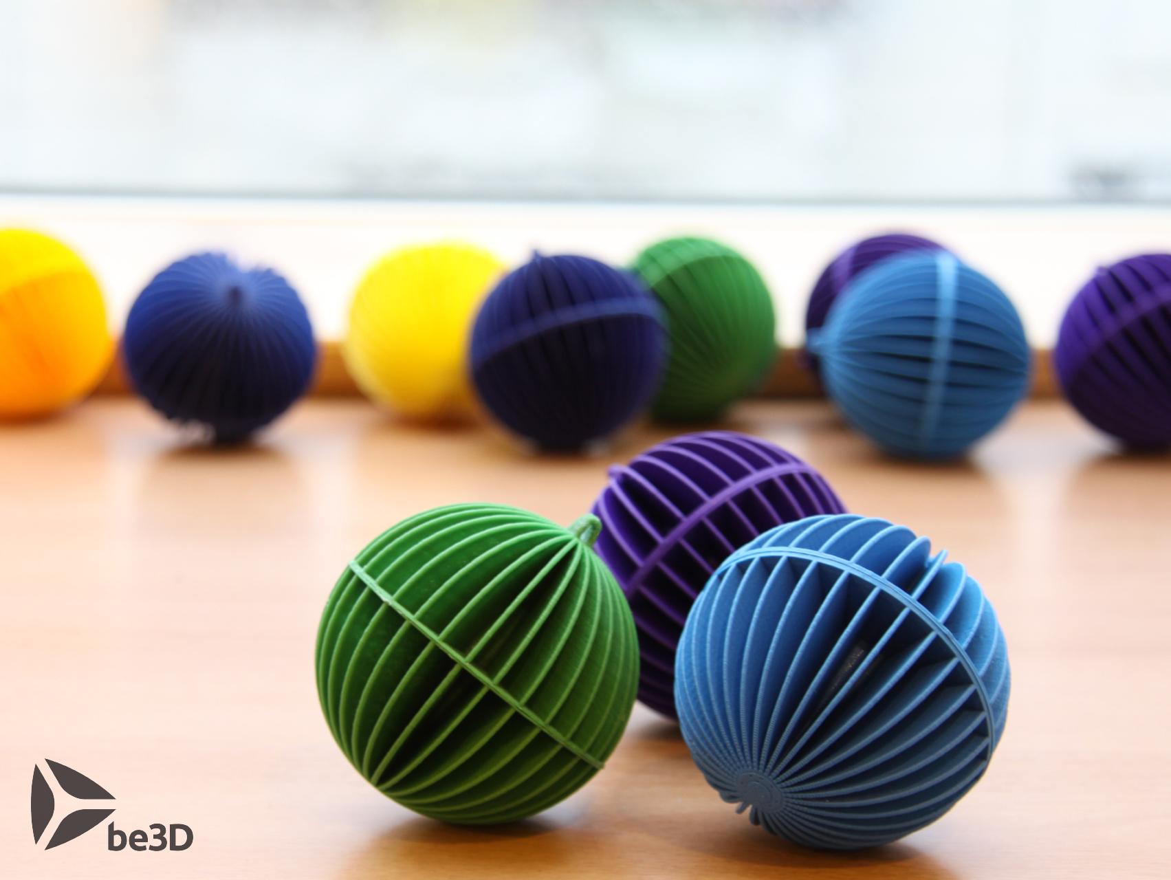 koule_okno_f_logol.png Descargar archivo STL gratis Esfera decorativa • Plan para la impresión en 3D, Ysoft_be3D