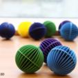 Free stl file Decorative Sphere, Ysoft_be3D