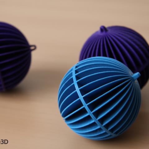 koule_stul_logo.png Descargar archivo STL gratis Esfera decorativa • Plan para la impresión en 3D, Ysoft_be3D