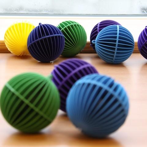 koule_okno_b.jpg Descargar archivo STL gratis Esfera decorativa • Plan para la impresión en 3D, Ysoft_be3D