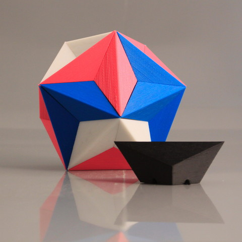 3d model Dodecahedron, NormallyBen