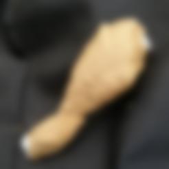 Télécharger fichier STL Chicken Drumstick • Plan à imprimer en 3D, NormallyBen