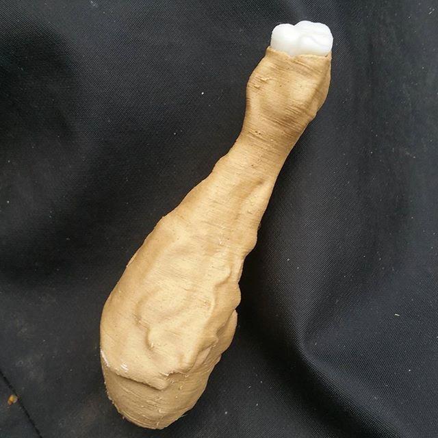 Photo 25-09-2016, 23 07 53.jpg Download STL file Chicken Drumstick • 3D print object, NormallyBen